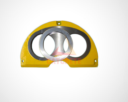 Concrete Pump Parts Sermac Wear Plate and Wear Ring for Truck Mounted Concrete Pump