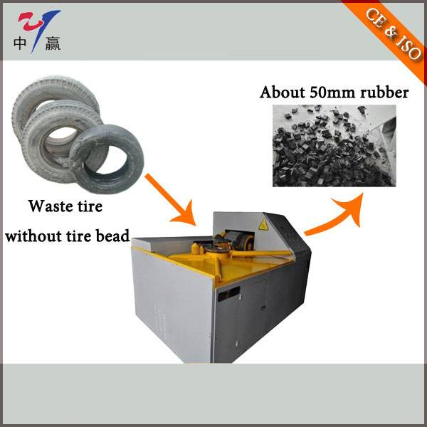 Rubber Recycling Equipment Plant--Tire Crusher