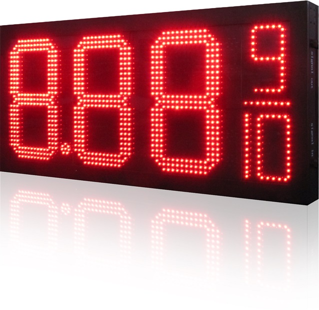 Outdoor LED Gas Station Price Sign