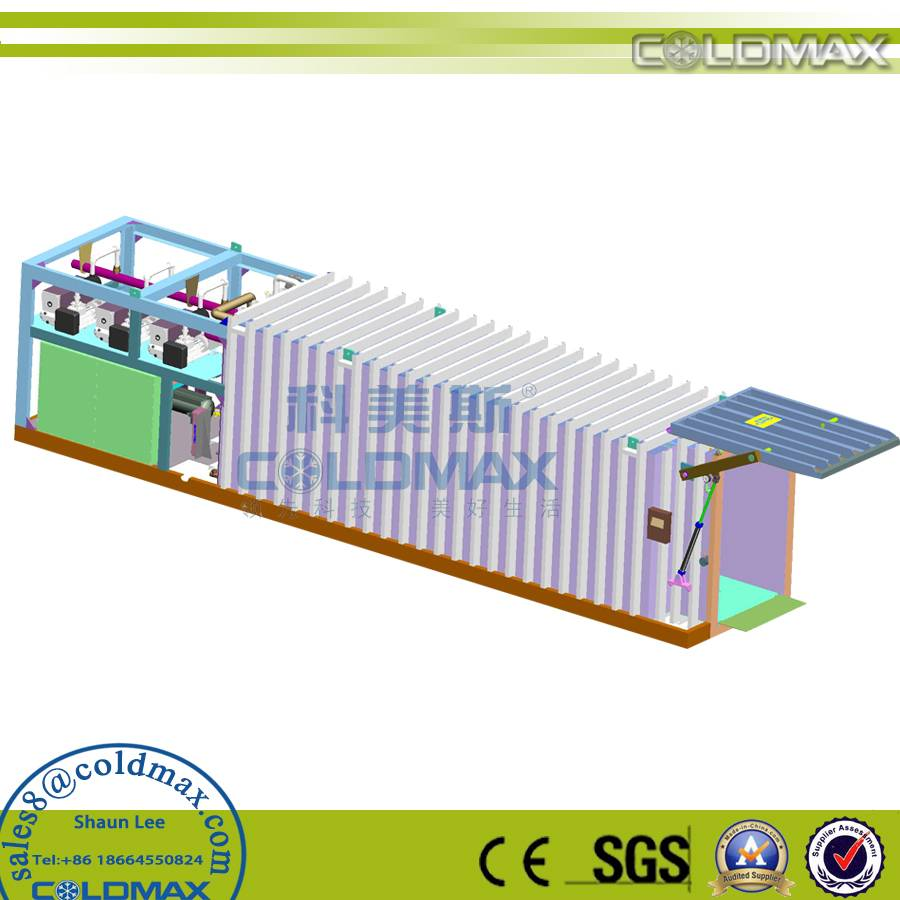 COLDMAX vegetable processing machine