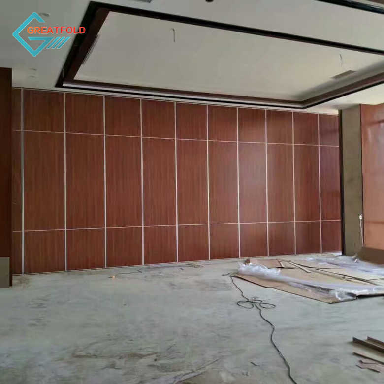 Customized wooden partition wall panel interior wall partition for banquet/restaurant
