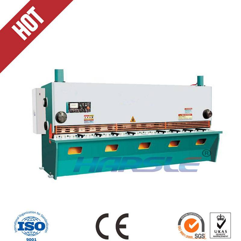 QC11Y series CNC hydraulic guillotine shearing machine