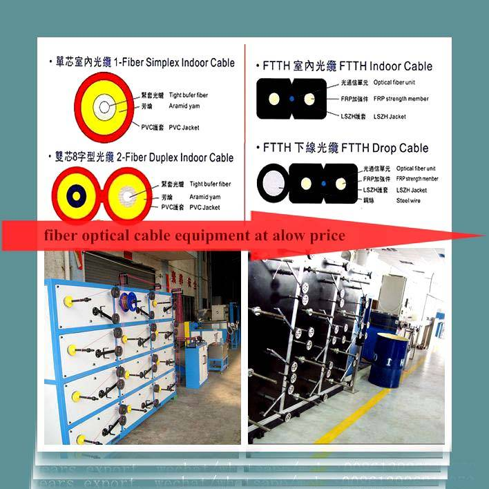 Optical Fiber Secondary Coating Line/ Loose Tube Cable Making Equipment