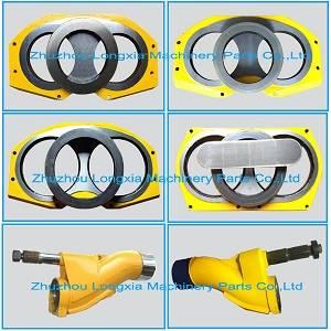 Putzeister Concrete pump spare parts wear plate