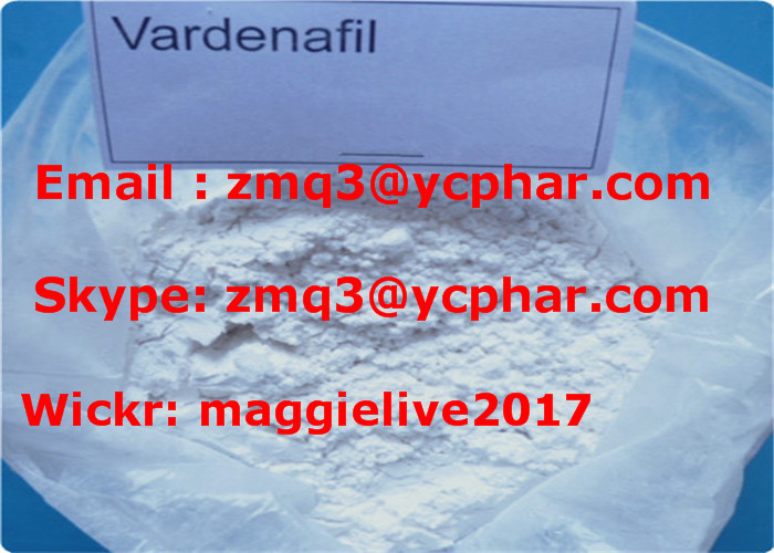 USP Male Enhancement Pharmaceutical Raw Powder Vardenafil HCl / Vardenafil Hydrochloride