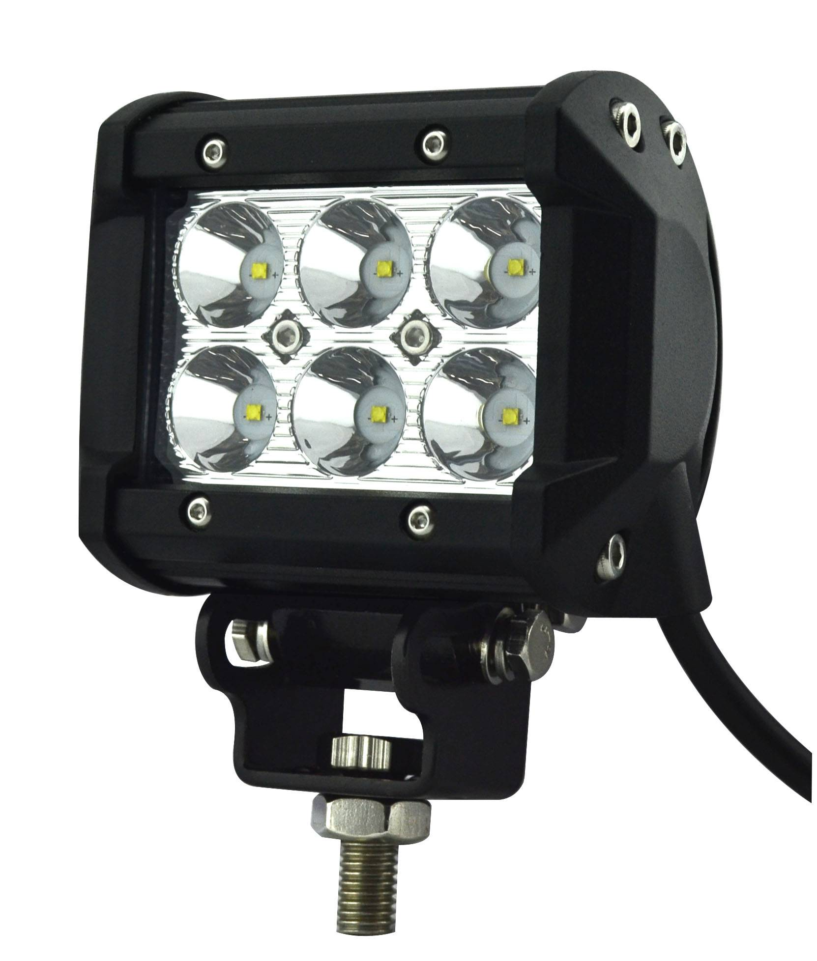 4 inch 18W Double Rows CREE LED Off Road Light Bar