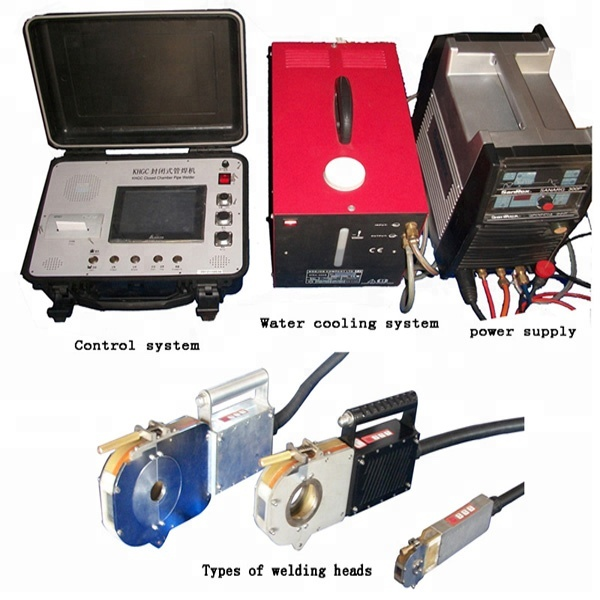 automatic pipe orbital welding machine
