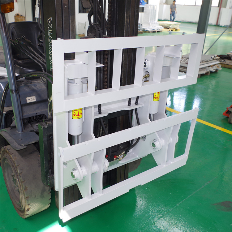 hinged forklift carriage,hinged forks for forklift,china manufacturer,forklift attachment
