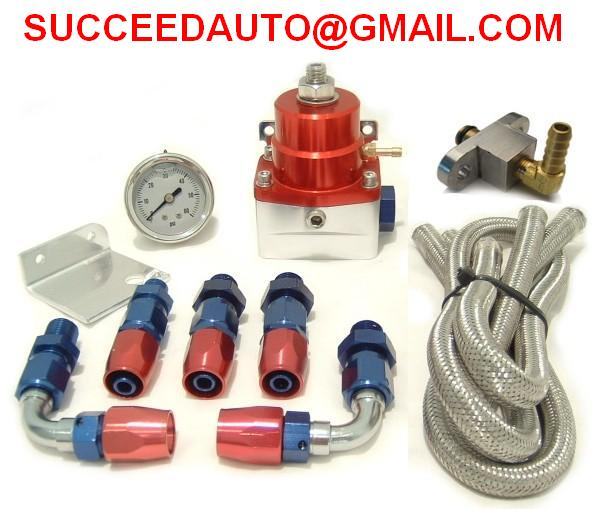 Fuel Pressure Regulator,Fuel Regulator kits,aluminum fitting,Performance Racing Auto Parts
