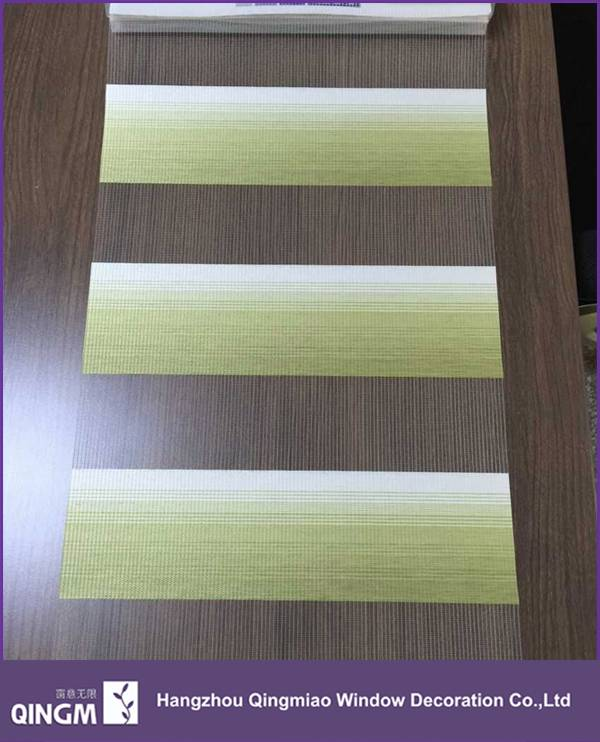 Linnet Fabric For Interior Window Shading Finished Zebra Blind