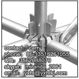 Hot dipped Galvanized layher ringlock scaffolding,2016 hotsale scaffolds