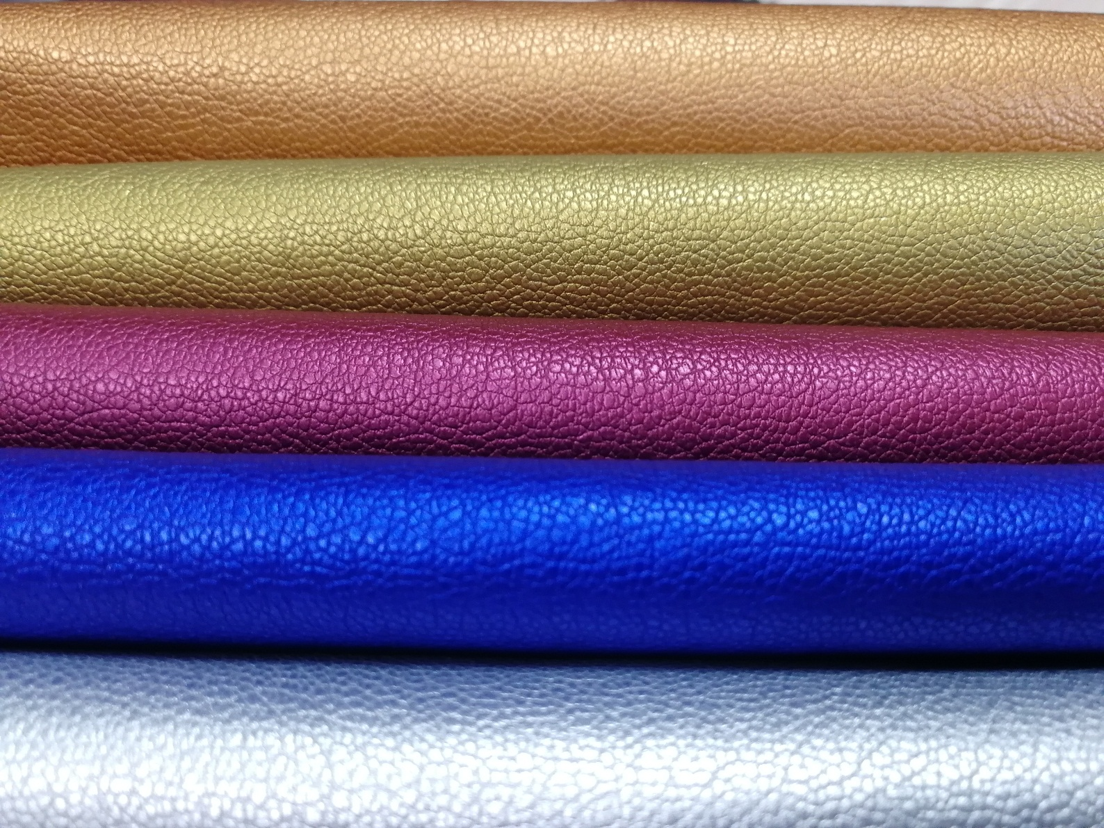 Garment PU SYNTHETIC Leather with Embossing Surface