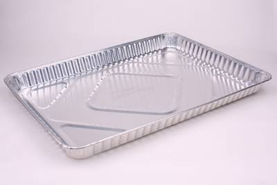 Oblong Disposable Aluminum Foil Food Container BBQ Tray Party Pan