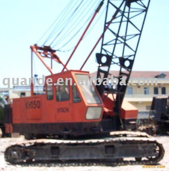 Sell used crawler crane HITACHI KH180