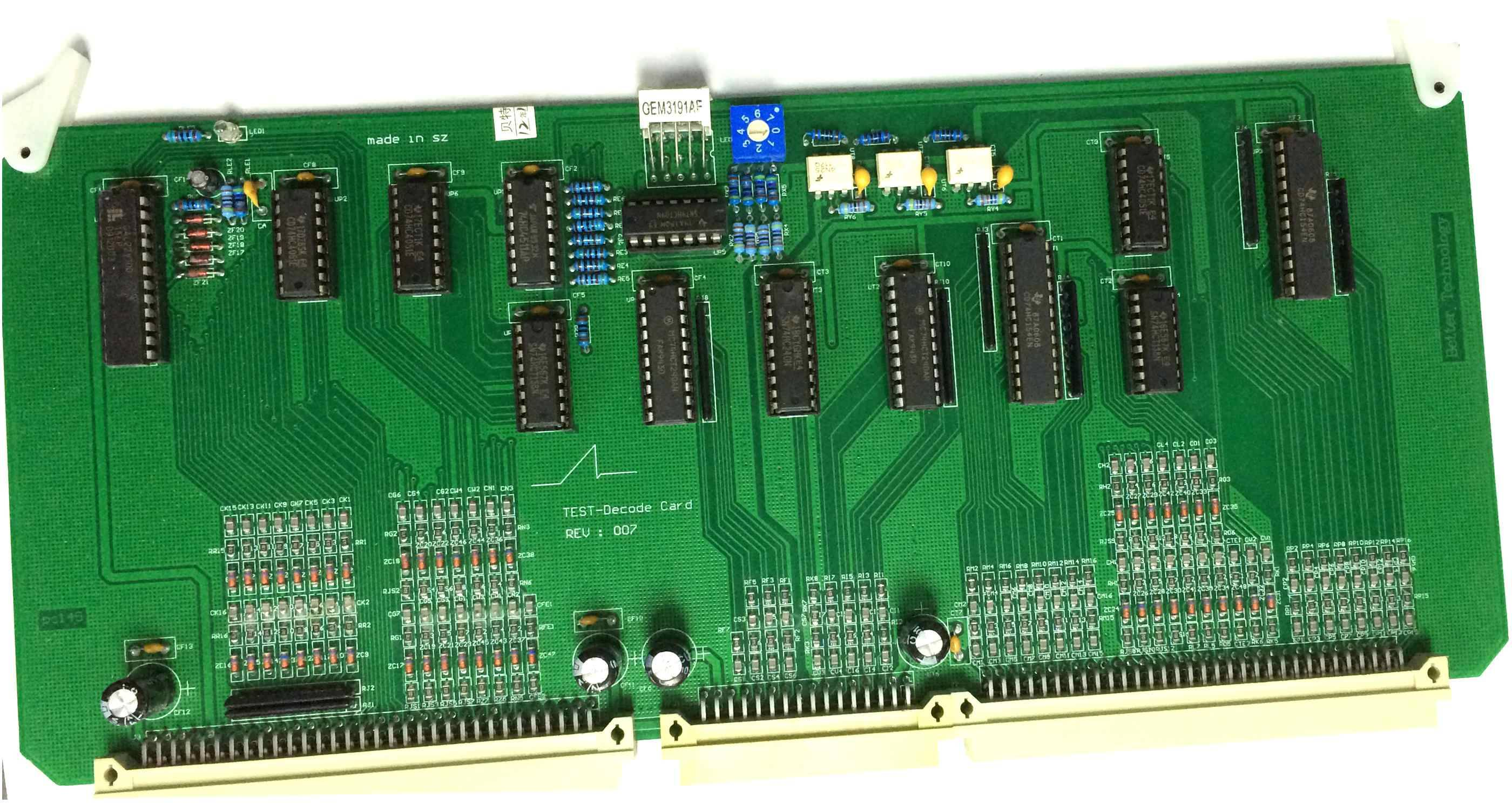 6 layer PCBA for industrial control With UL Approval