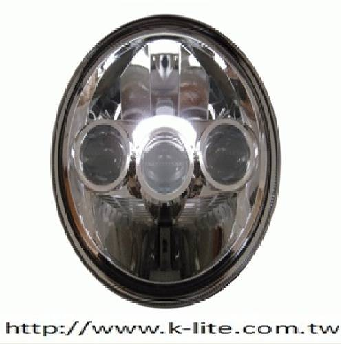 ECE LED motorcycle head light