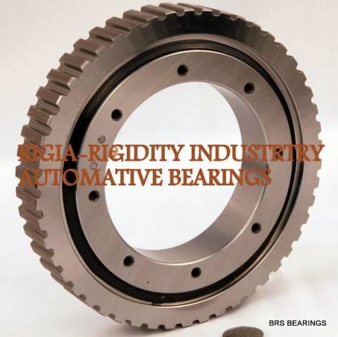 time belt tooth(gear) slewing rings/radial axial bearing/black treatment slewing rings
