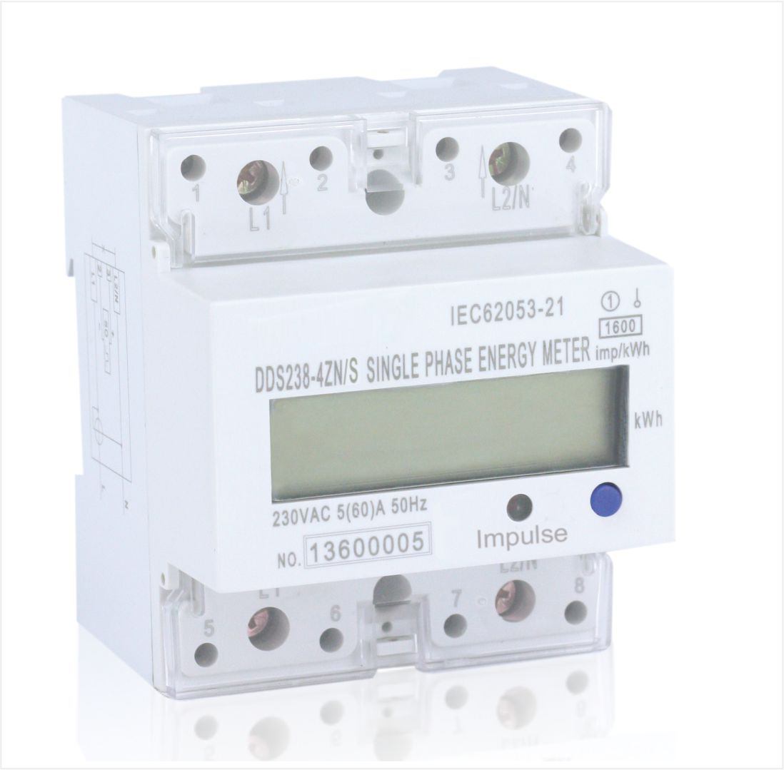 Single phase din rail energy meter, Type DDS238-4 RS485