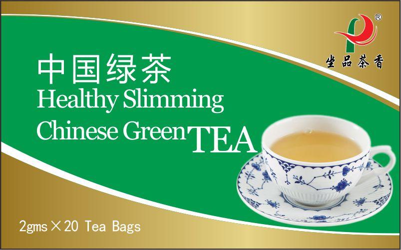Chinese Healthy Herbal Slimming Green Tea bag