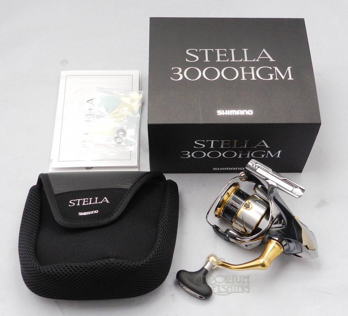 New Shimano STELLA 3000HGM Spinning Reel 2014