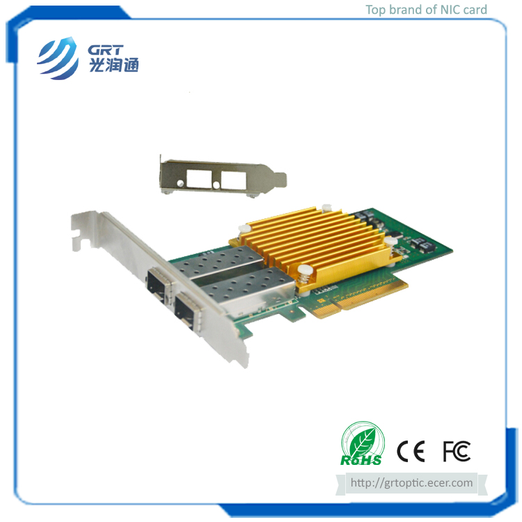 F1002E PCIe 10G 2-Port Intel 82599ES Ethernet Controller Server Adapter NIC Network Card