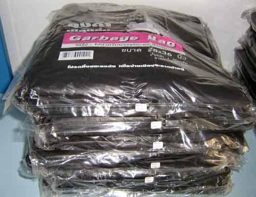 Plastic Garbage Trash bags PE PP