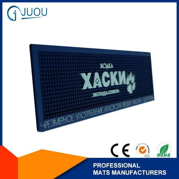 Custom branded rubber bar counter mat