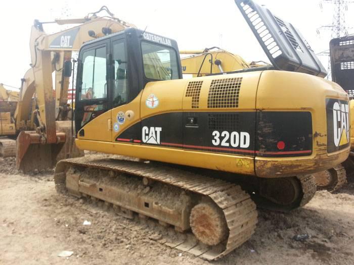 used cat excavator 320d