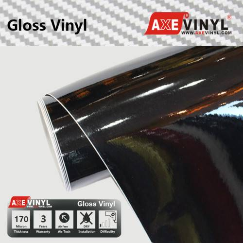 Axevinyl Factory Direct Sale Car Wrap Vinyl Premium Quality Gloss Vinyl Wrap Film 1.52X30m