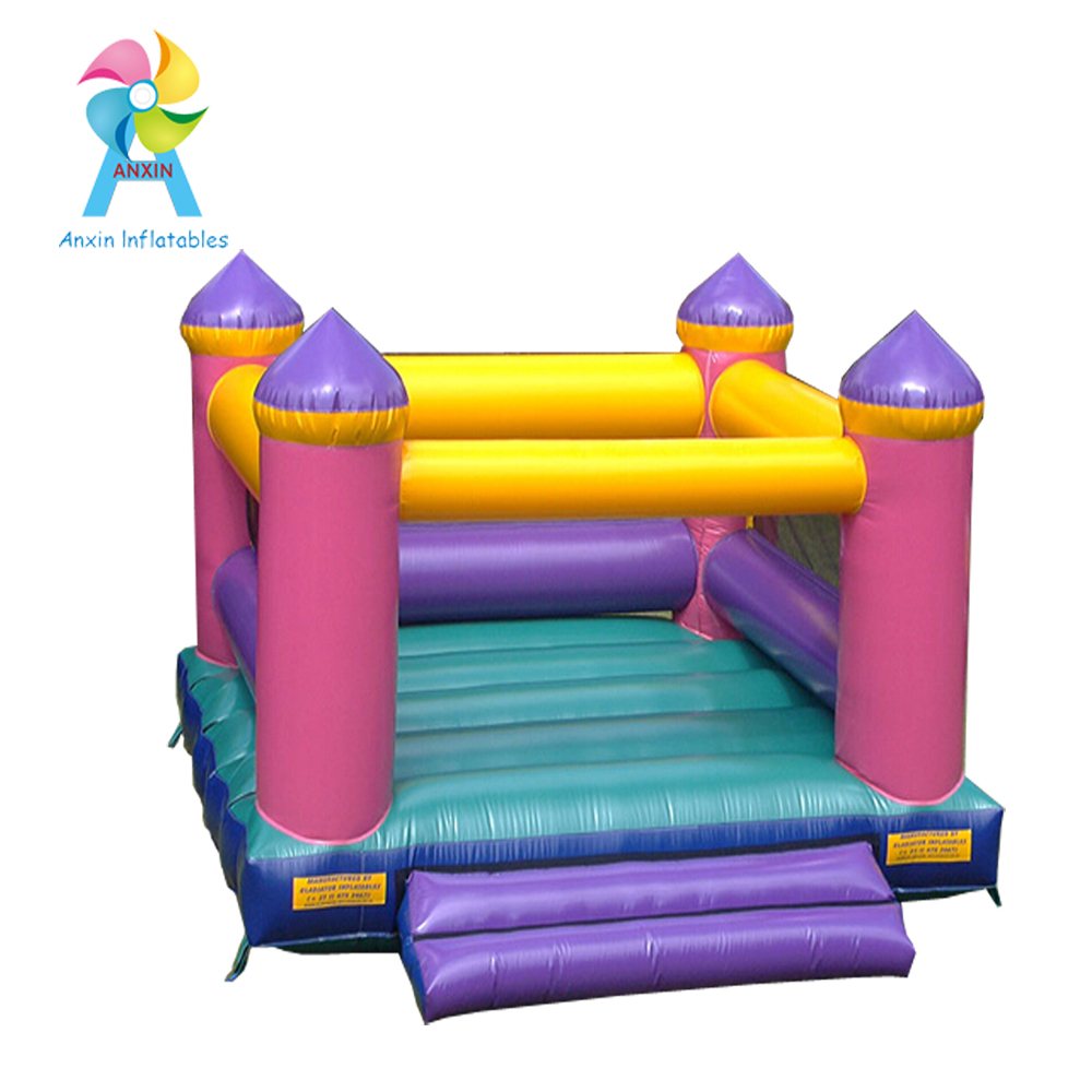 PVC strong quality big kids jumping bouncy inflatable castle jump pad bouncer