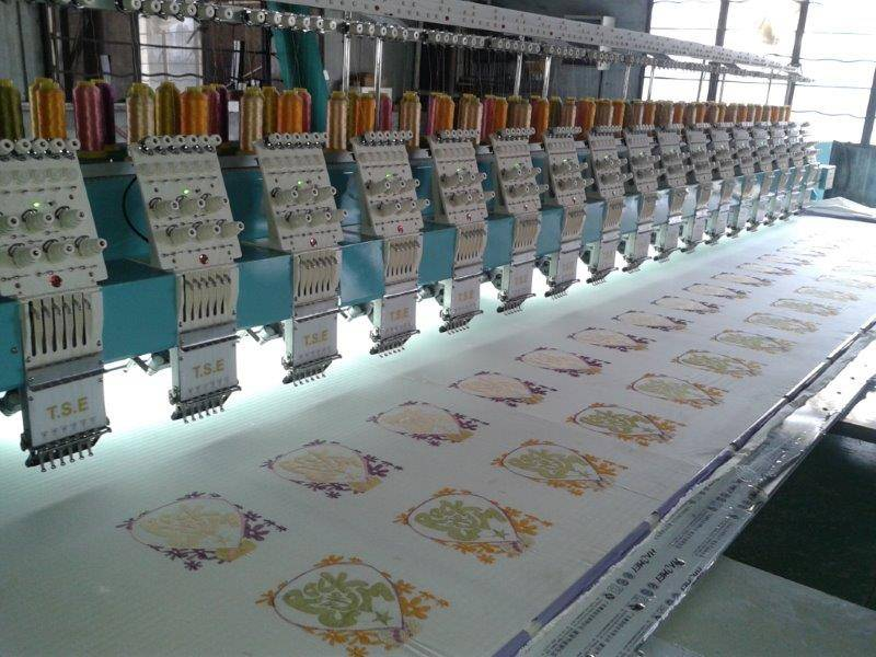 Tai sang embroidery machine Vista model 617