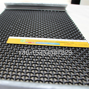 Crimped Screen Mesh with Edge