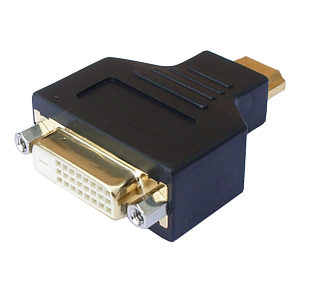 DVI to HDMI A type Adapter
