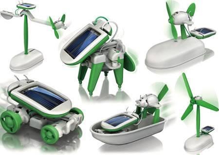 Super offer for christmas,6 in 1 solar kit,solar toy