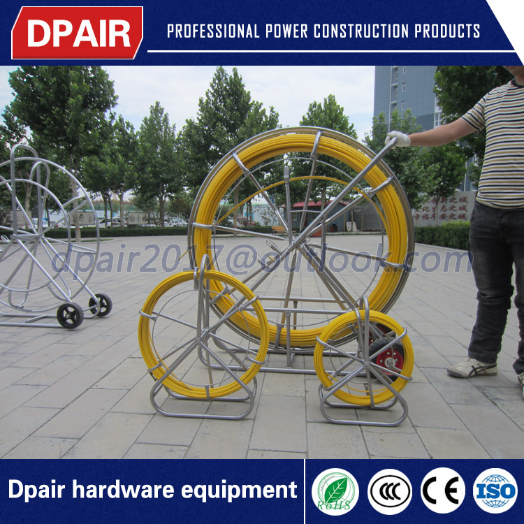 2017 new designed fiberglass cable guide duct rodder
