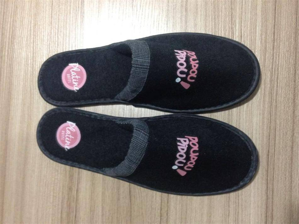 terry fabric hotel slipper