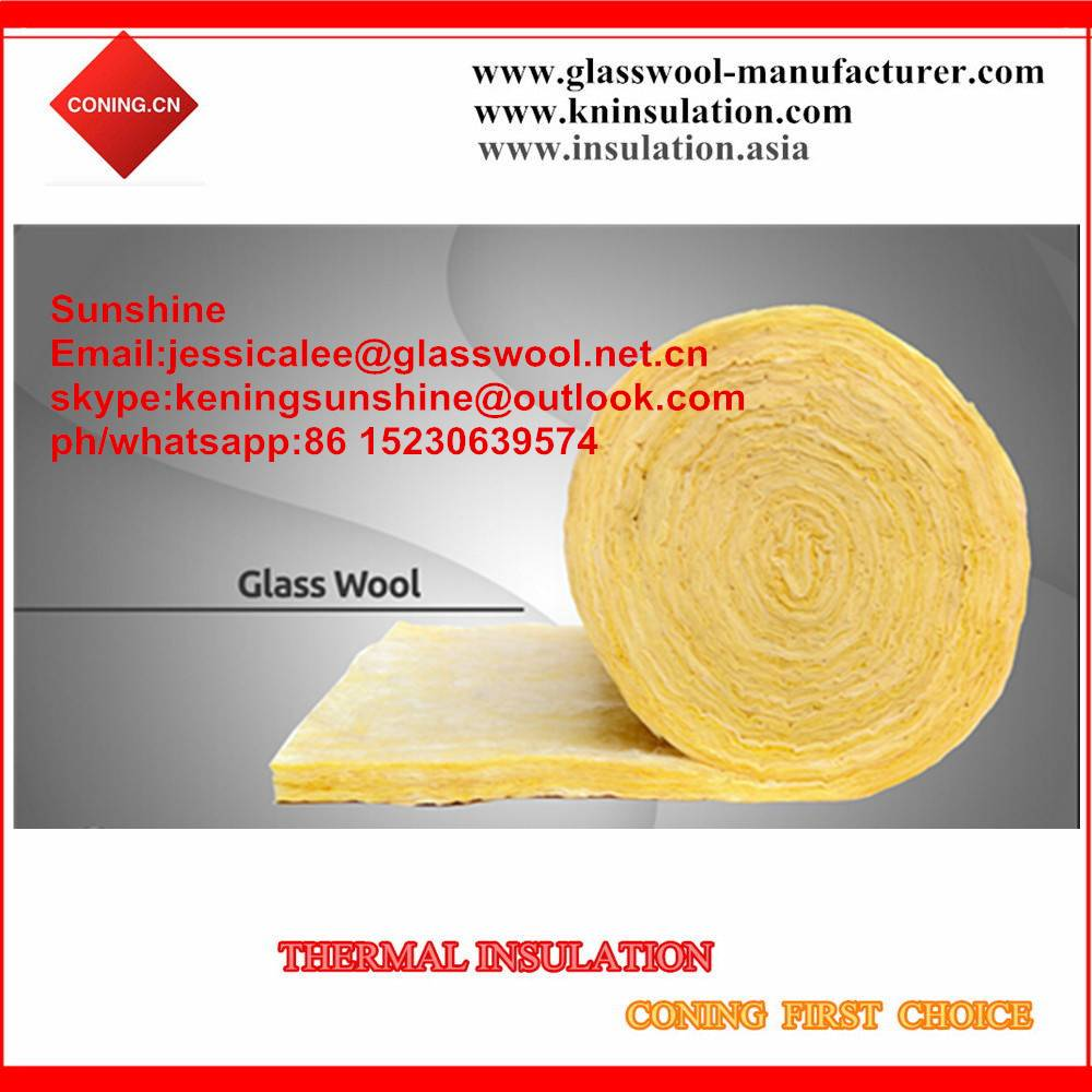 24kg/m3 glass wool blanket price