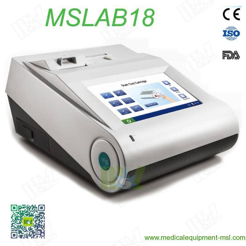 2016 New Blood Gas and Chemistry Analyzer MSLAB18
