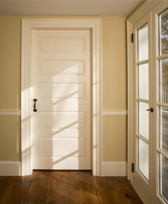 Nice design casement U-PVC doors