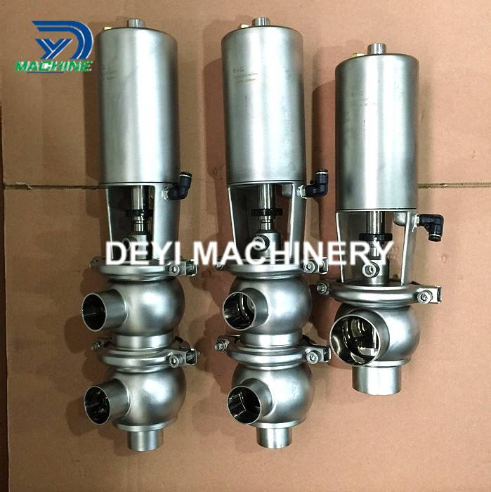 Stainless Steel Food Grade Pneumatic Shut Off Valve