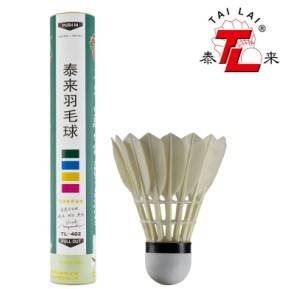 Tailai Brand manufacturer TL-402 badminton shuttlecock