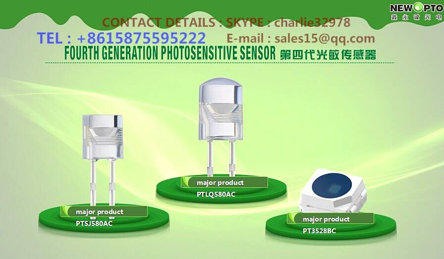 Everylight alternatives------High speed light sensor (SGS & ROHS)-----NEW OPTO