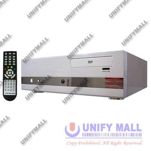 UNIFY PCKP1000D 320-4500GB HDD MP4/DVD/CDG PC Karaoke Player