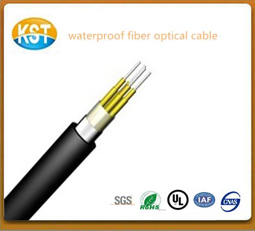 kevlar yarn double sheath optical cable Outdoor optic cable communication cable/waterproof-cable