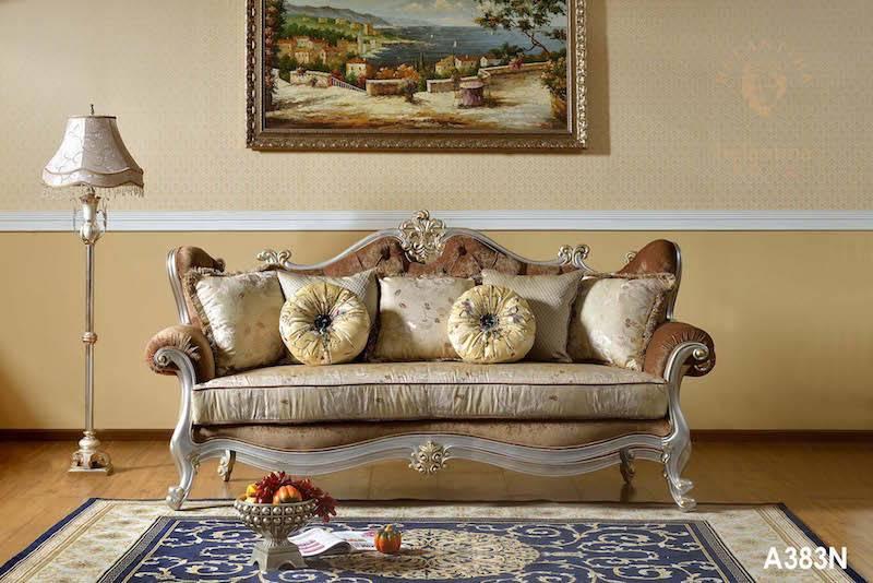 Luxury European Classic French Antique Living Room Sofa Set