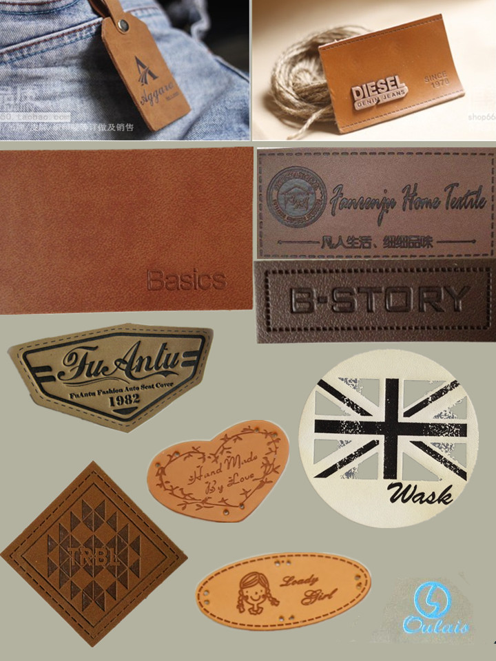 Custom Leather Patches and PU Labels