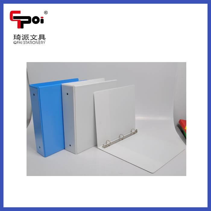 A4 Metal 3 Ring Binder Opaque Plastic File Folder