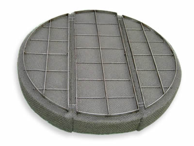 Stainless steel knitted demister pad & mist eliminator for sale