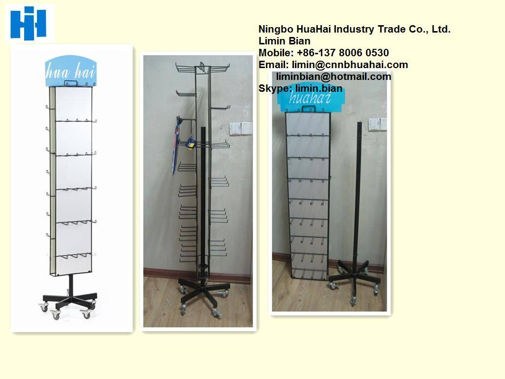 spinning floor display Stand