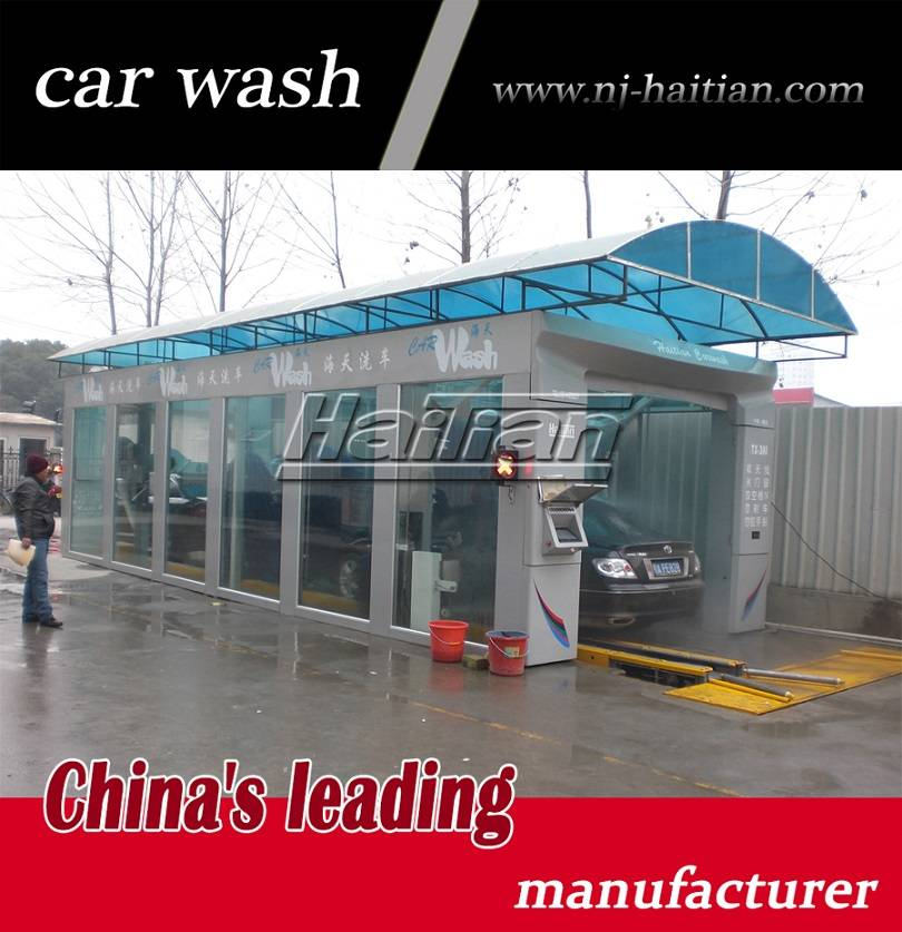 TX-380G 7 brushes with soft touch brushes car wash machine for discount